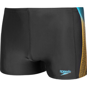 speedo Tech Panel Aquashorts Men black/mango/pool
